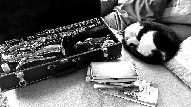 Mimi und Saxofon